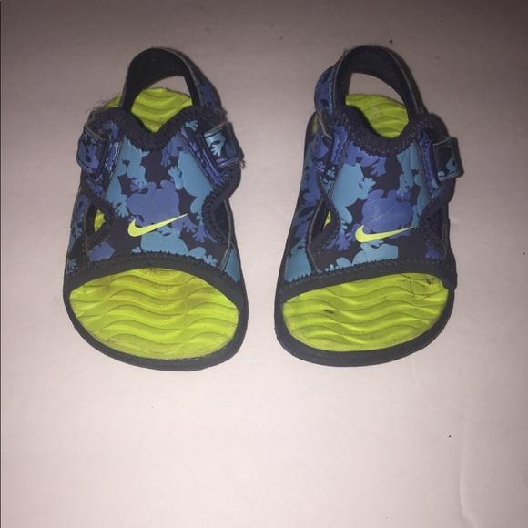 Infant Baby Boy Nike Sandals Size 2c